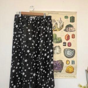 Kathy Ireland Fleece Star PJ Pants